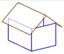 Расчет площади крыши