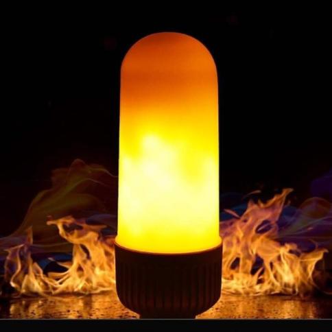 Лампа с пламенным свечением