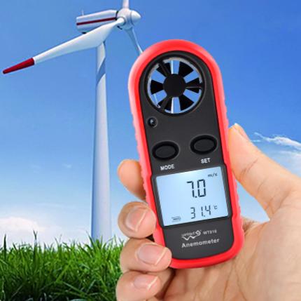 Ручной измеритель скорости ветра