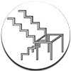 Расчет металлической лестницы на тетивах